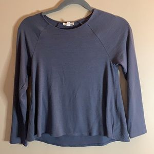 Wilfred Free Grey Long Sleeved Top XS